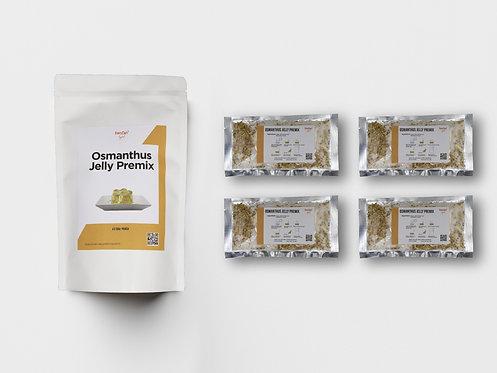 3 steps DIY Osmanthus Jelly Premix
