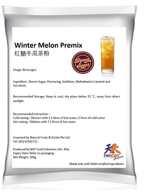 Winter Melon Premix ** Brown Sugar 红糖冬瓜茶粉