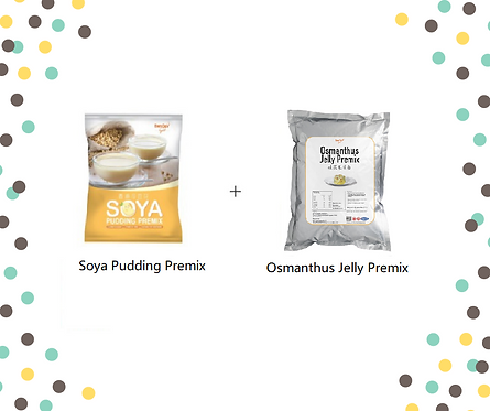 Soya Pudding Premix + Osmanthus Bundle