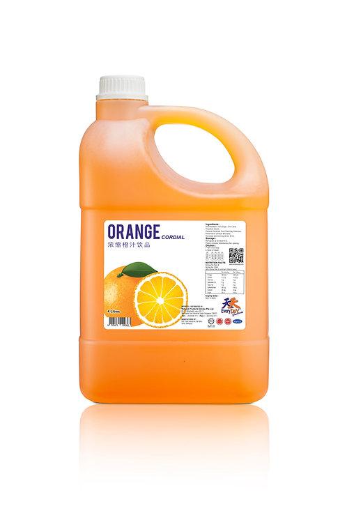Orange 浓缩橙汁饮品