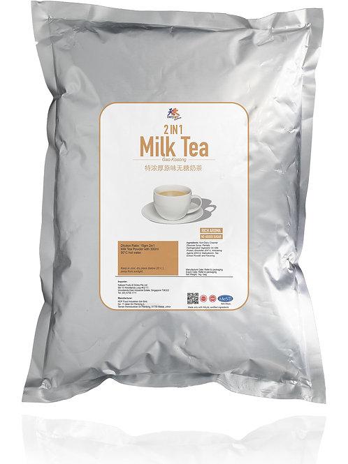EveryDay 2 in 1 Milk Tea - Gao Kosong**Rich Aroma**No Added Sugar**特浓厚原味无糖奶茶