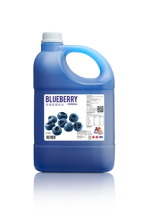 Blueberry 浓缩蓝莓饮品