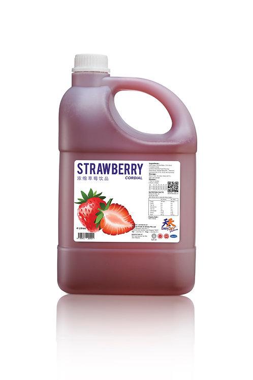 Strawberry 浓缩草莓饮品