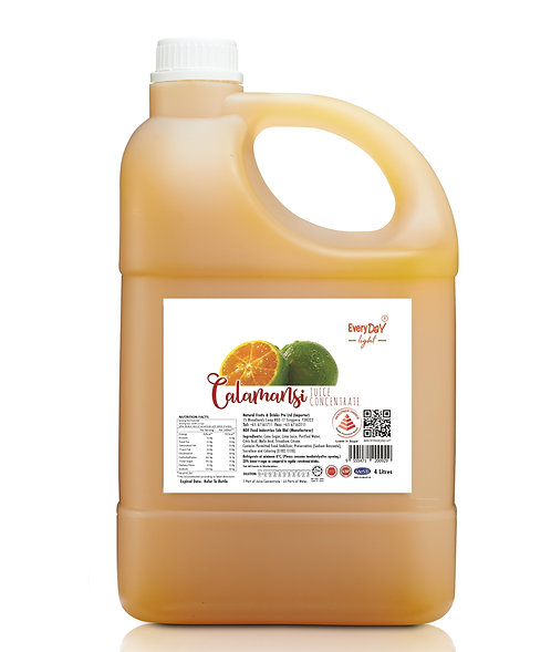 Calamansi (Lower in Sugar) 浓缩酸柑汁(较健康选择)
