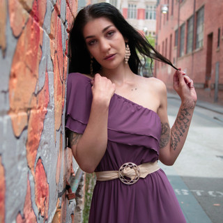 Eva La Sting Vintage City Shoot Perth-4.