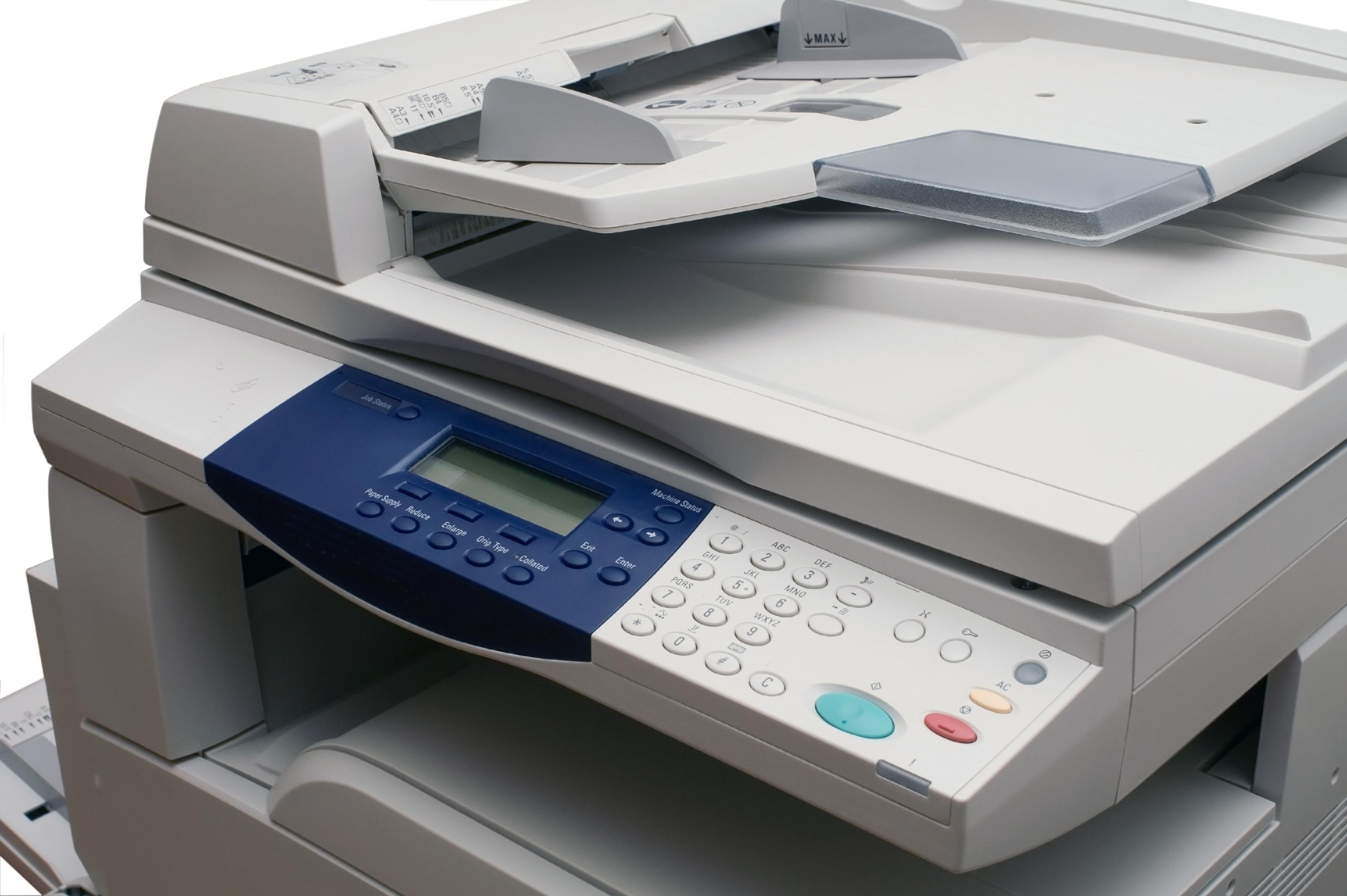 Multifunction copiers