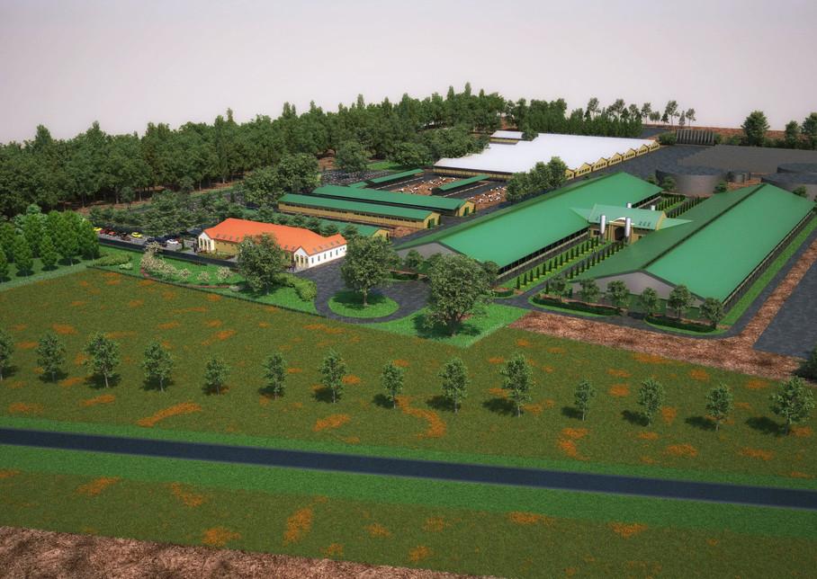 A Nemzeti Ménesbirtok És Tangazdaság Zrt. (Mezőhegyes) tejhasznú szarvasmarha telepének 2. fejlesztési ütemére vonatkozó szerződéskötés.