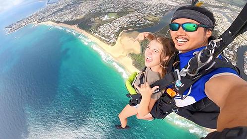 Sunshine Coast Skydive 15000ft