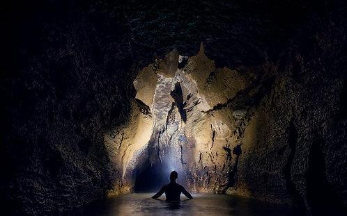 오클랜드 출발 : 와이토모 Black Labyrinth 블랙워터래프팅 & 호빗마을