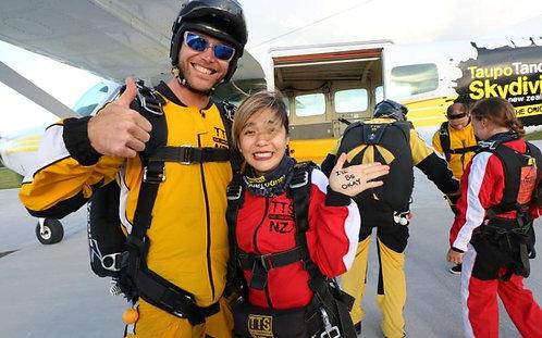 타우포 15000ft 스카이다이빙
