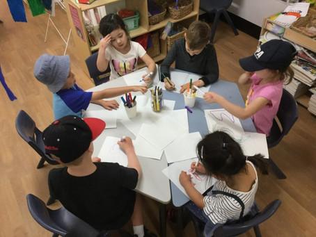 호주유치원 이야기 2화 : 숫자 모양 글자 익히기