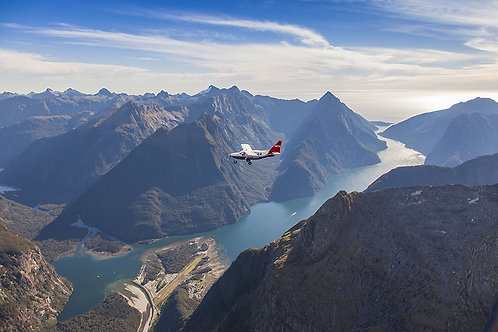 밀포드사운드 비행기 & 크루즈 FLY-Cruise-FLY