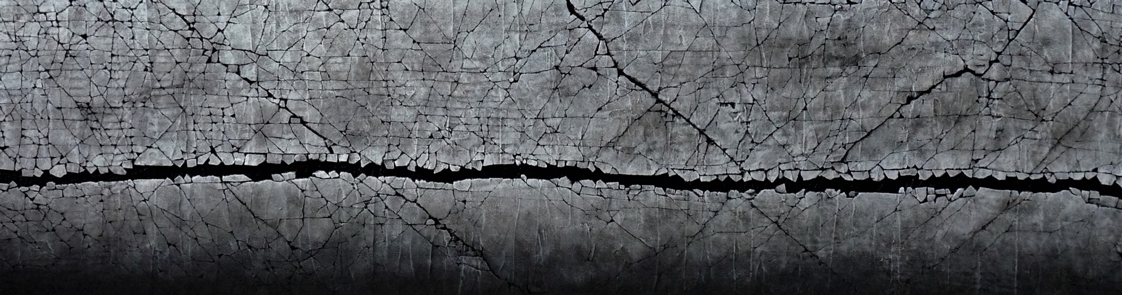 """Ebb and Flow Series: In Darkness, there is Light. Mixed media. 18"""" x 65"""". 2020 PRICE:  $3200.00 AVAILABLE at The Effusion Gallery and Glass Studio"""