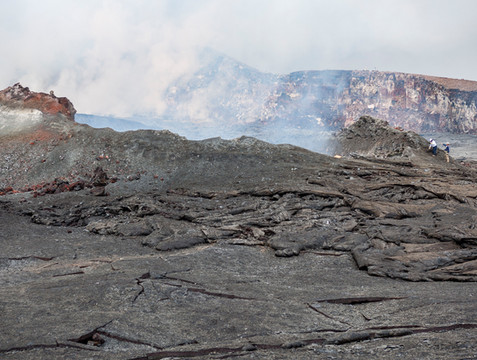 Pu'u O'o Crater, Hawaii Volcanoes NP