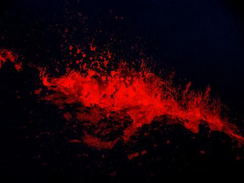 Pu'u O'o Lava Lake, Hawaii Volcanoes NP