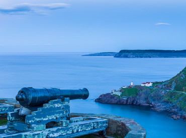 Entrance to St. Johns Harbor, Newfoundland