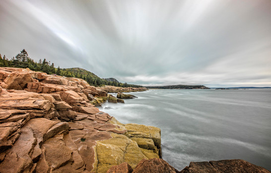 Cliffs near Thunder Hole, Acadia NP