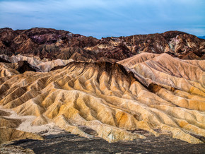 Zabriske Badlands, Death Valley