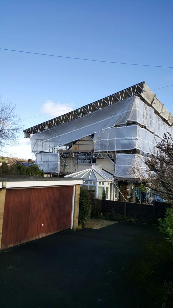 Ilkley, Temporary Roof