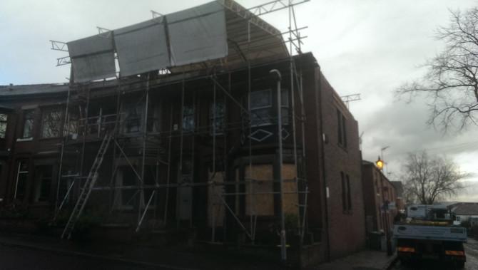 Rochdale Temporary Ubix Roof