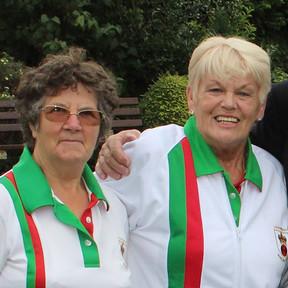 Sheena & Rosemary - Ladies Pairs Winners