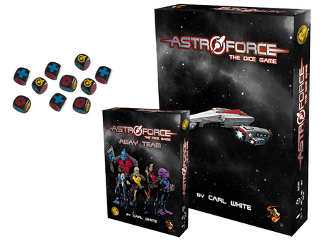 Astroforce: The Dice Game is live (To boldly roll)