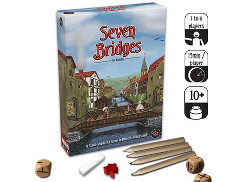Seven Bridges is back on Kickstarter (Three dudes on a map)