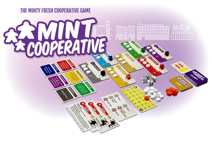 Mint Cooperative Kickstarter campaign