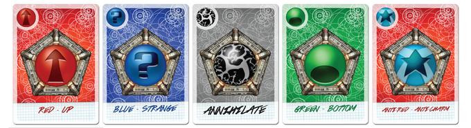Pentaquark cards