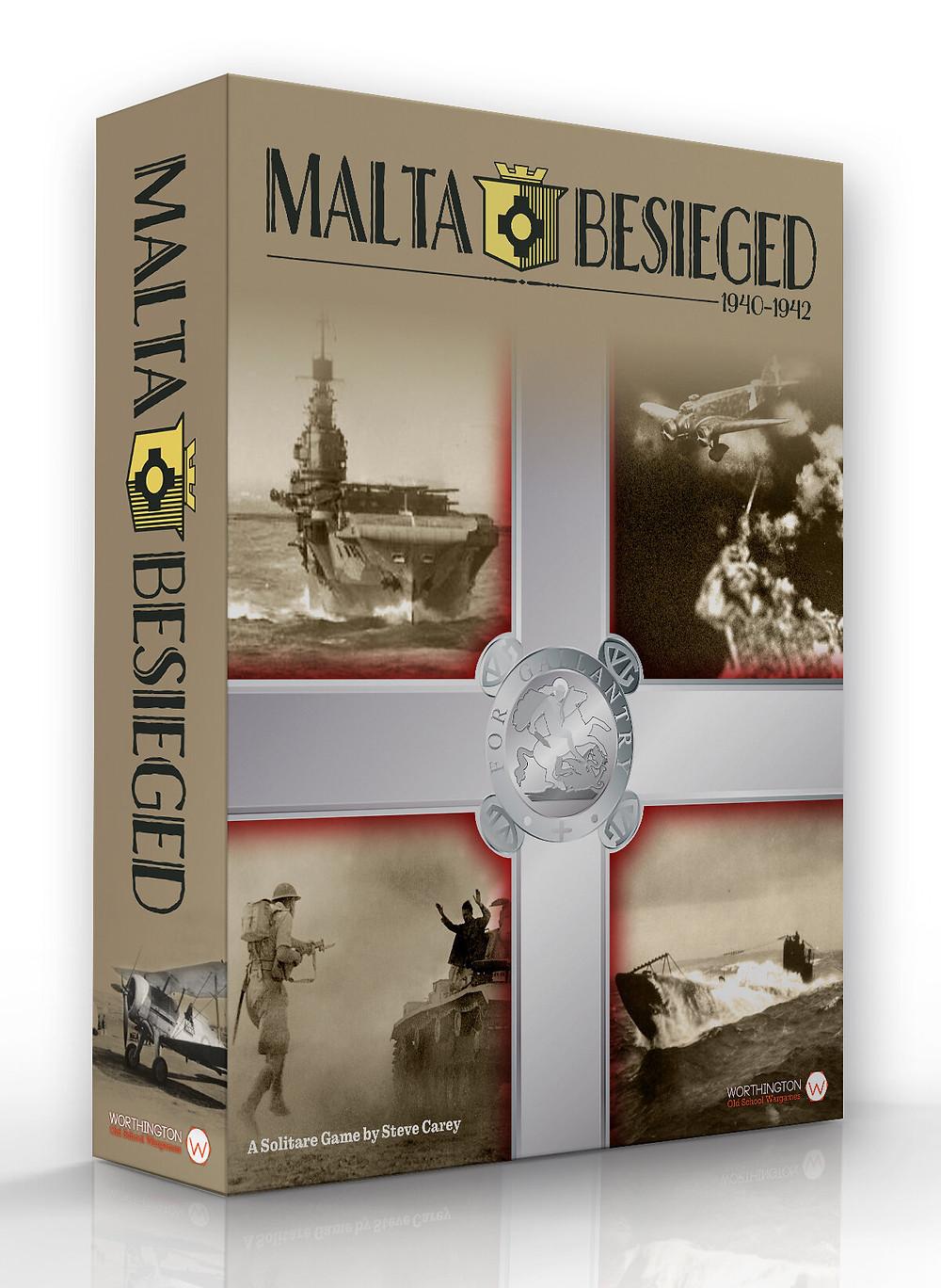 Malta Besieged box