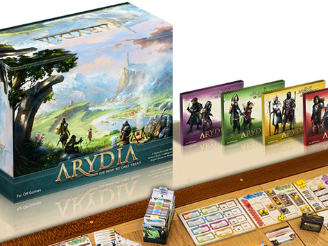 Arydia: The Paths We Dare Tread is live