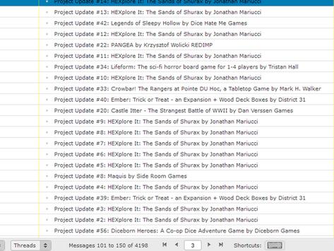 Kickstarter Updates... (by govmiller)