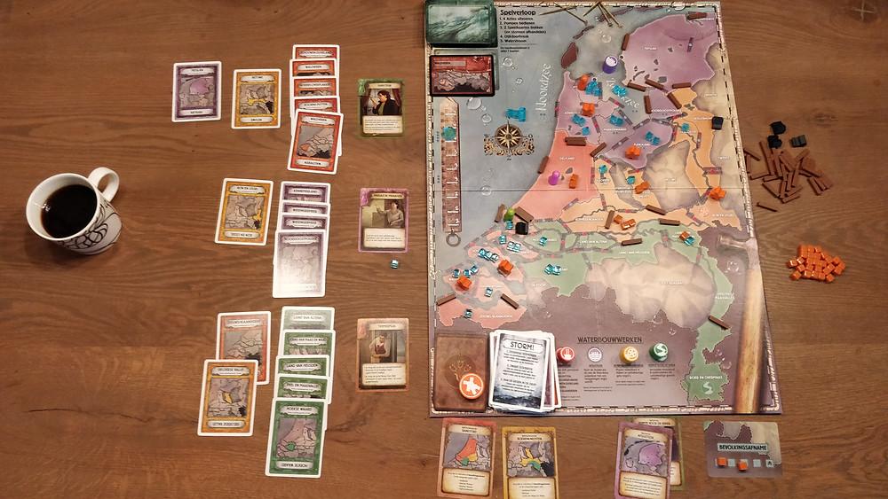 Pandemic: Rising Tide set up