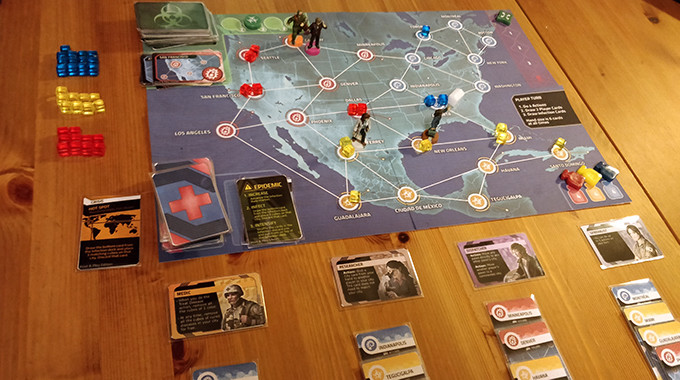 PnP version of Pandemic: Hot Zone - North America