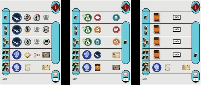Legacies solo cards