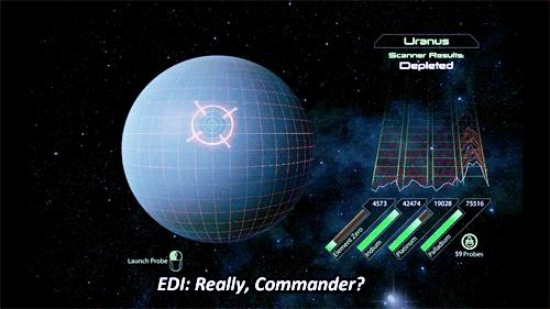 EDI: Really, Commander?