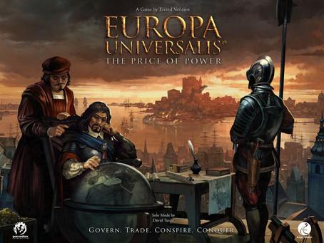 Europa Universalis is live