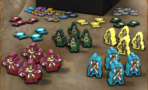Barbarians: The Invasion (meeples version)