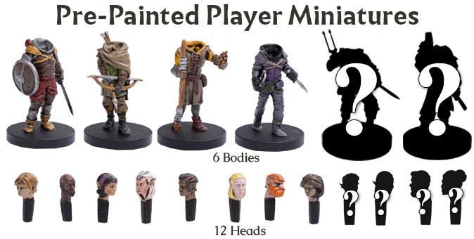 Arydia player miniatures