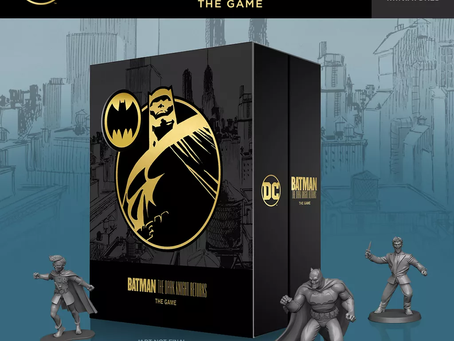 Batman: The Dark Knight Returns is live (The Knight is Old)