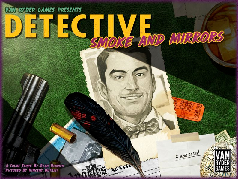 Detective: Smoke and Mirrors (box cover)