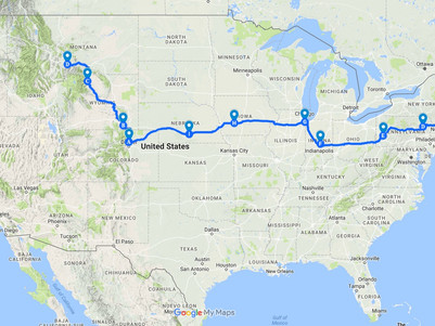 Maine to Montana - Trip Stats and Insights