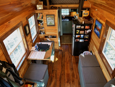 The Wicked Tiny House interior is finished - for now!
