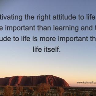 Right Attitudes