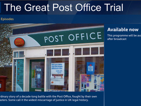 The Great Post Office Trial on BBC Radio 4