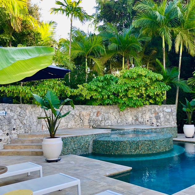 Pinecrest Pool Staging