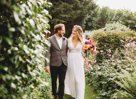 Our Unexpectedly Small, Completely Perfect Wedding.