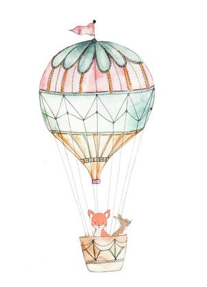 Children's Invitation Illustration