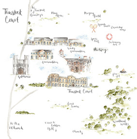 Illustrated Map for Tawstock Court