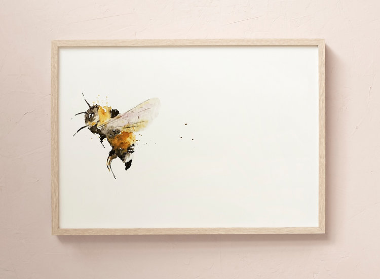 Watercolour Bumble